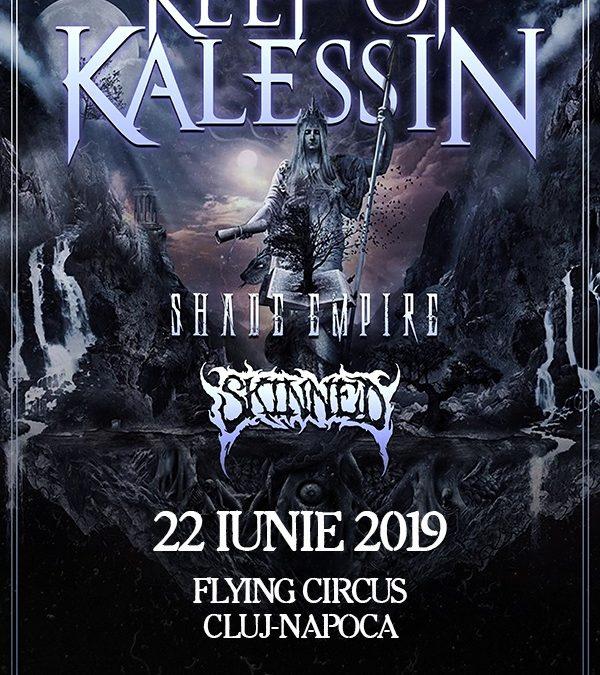 Concert Keep of Kalessin, Shade Empire și Skinned în România
