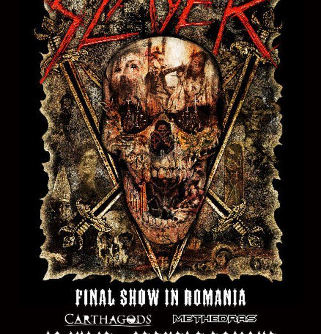 Carthagods și Methedras în deschiderea concertului Slayer