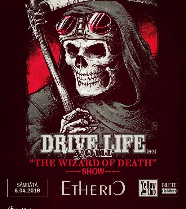 Programul concertului Drive Your Life și Etheric