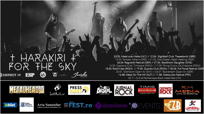 Harakiri for the Sky LIVE în Timișoara
