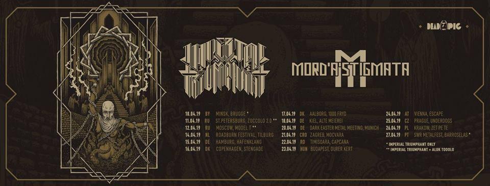 Concert black metal cu Imperial Triumphant în Capcana