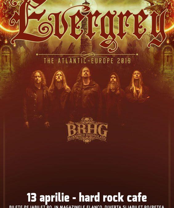 Concert Evergrey la Hard Rock Cafe