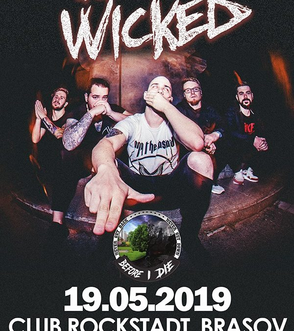 For The Wicked și Before I Die în concert la Brașov