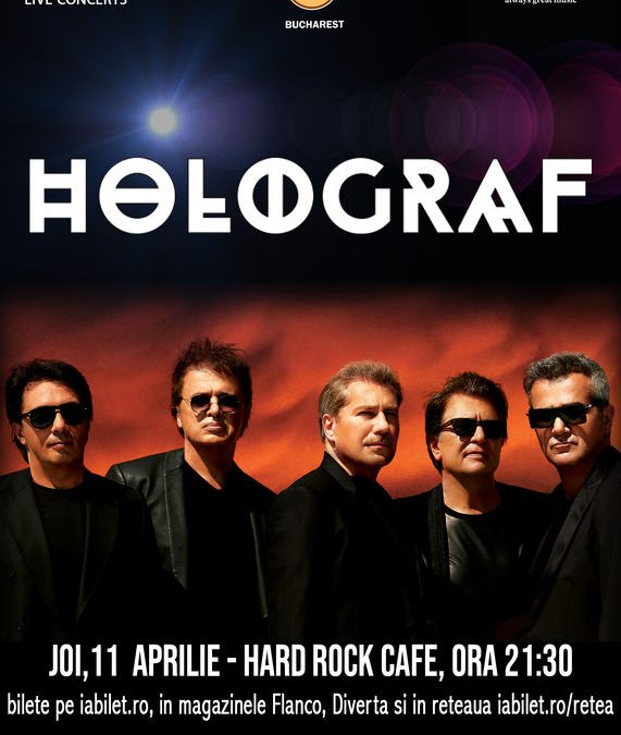 Concert Holograf în Hard Rock Cafe