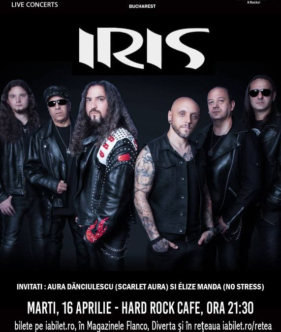 """Concert IRIS: """"Lumea toată e un circ"""" în Hard Rock Cafe"""
