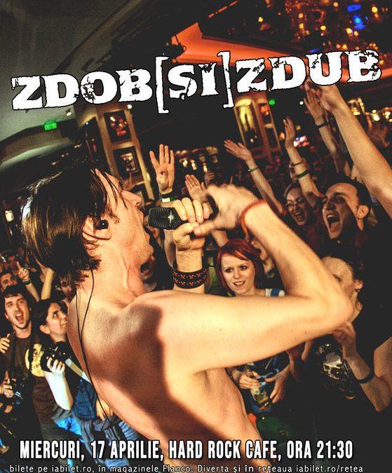 Concert Zdob și Zdub în Hard Rock Cafe