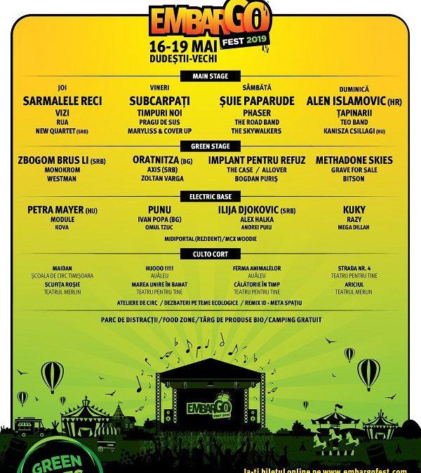 Embargo Fest aproape de start