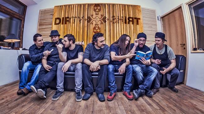 Dirty Shirt, prima formație românească difuzată pe Arte TV