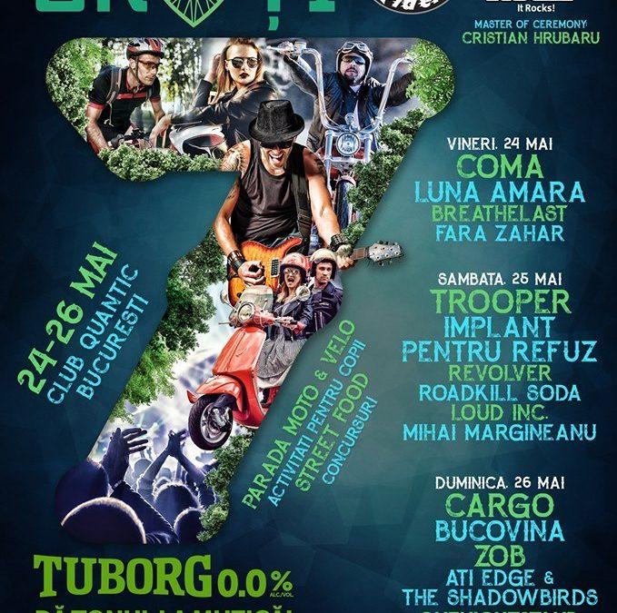 Iubim 2 Roți 2019 – Festival, 24-26 mai 2019, București