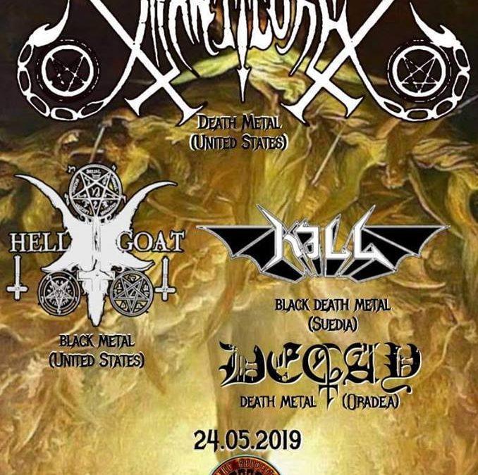 Manticore, Kill, Hellgoat şi Decay concertează în Zipp It Cluj-Napoca