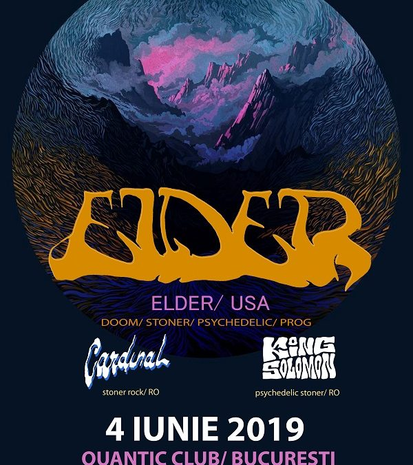 Programul concertului Elder, Cardinal și King Solomon din Quantic, 4 iunie