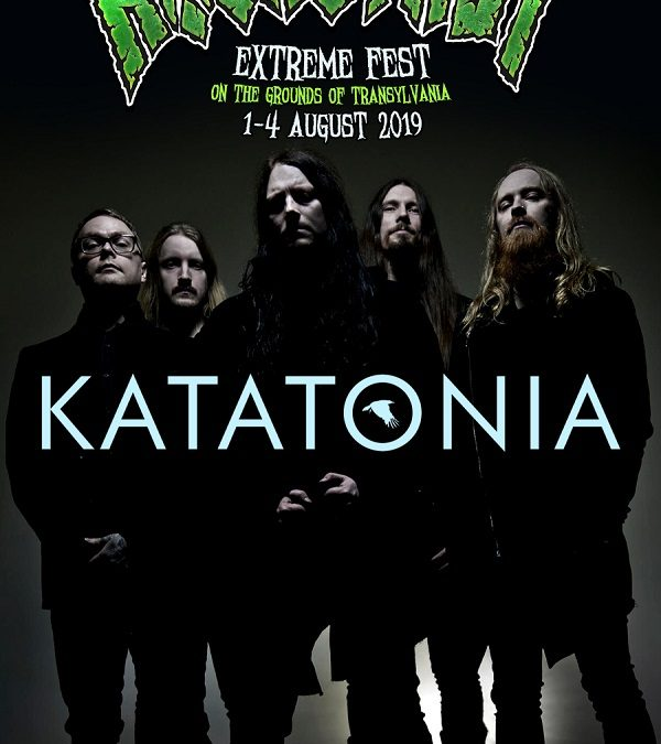 Death/doom metal suedez la Rockstadt Extreme Fest 2019: Katatonia revine cu un show aniversar la poalele cetății Râșnov!