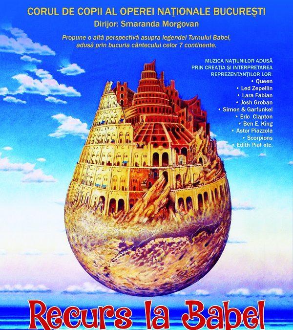 """""""Recurs la Babel"""", în Club Quantic"""