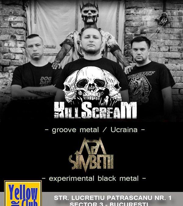 Joi, concert Killscream și Apa Sîmbetii la București