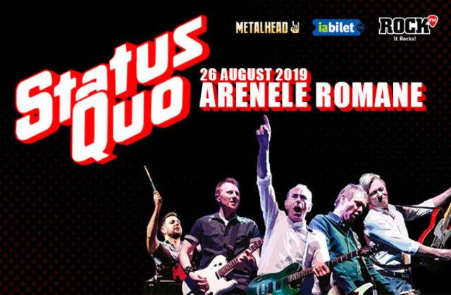 Compact și Cristi Minculescu, Valter și Boro cântă în deschidere la Status Quo