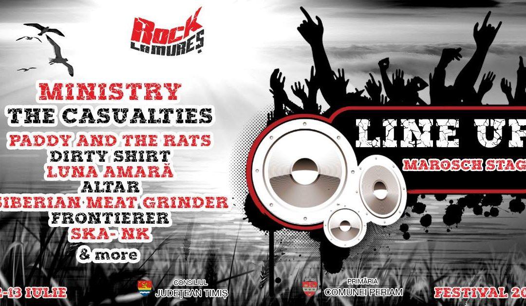 Rock La Mureș revine cu o nouă ediție