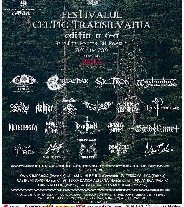 Programul Festivalului Celtic Transilvania