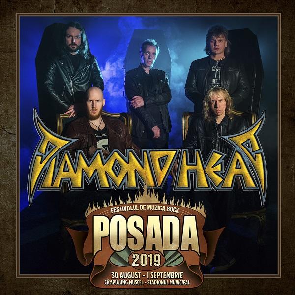 DIAMOND HEAD la Posada Rock 2019