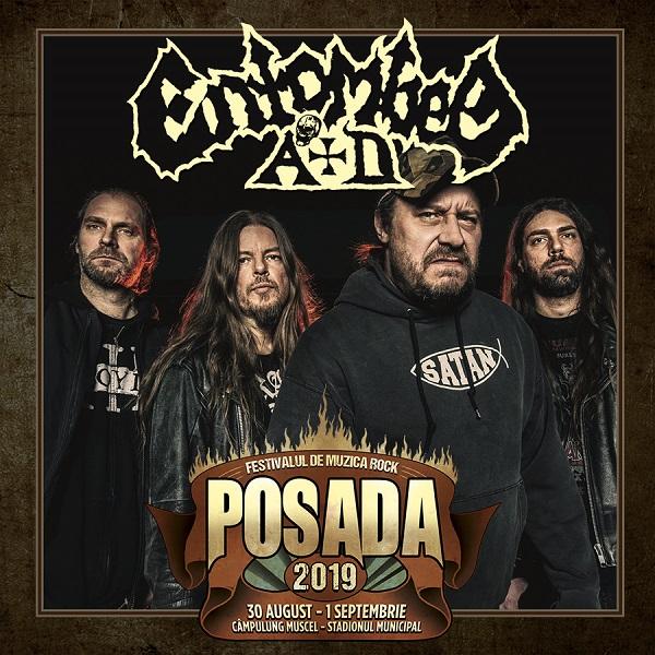 ENTOMBED A.D. la Posada Rock 2019