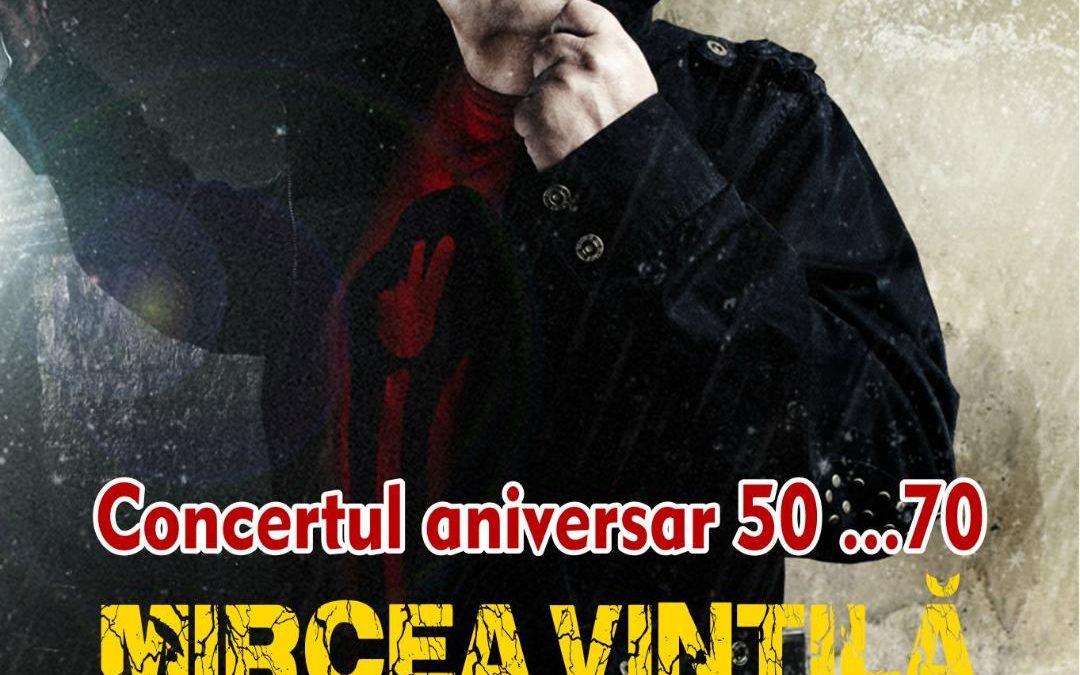 """Concert aniversar Mircea Vintilă – """"50…70"""", la Hard Rock Cafe"""