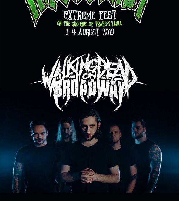 Deathcore german la Rockstadt Extreme Fest 2019: WALKING DEAD ON BROADWAY