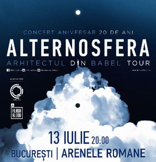 Cronic și FlashBlood deschid concertul Alternosfera