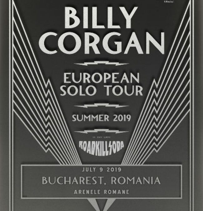 Roadkill Soda va deschide concertul Billy Corgan de pe 9 iulie