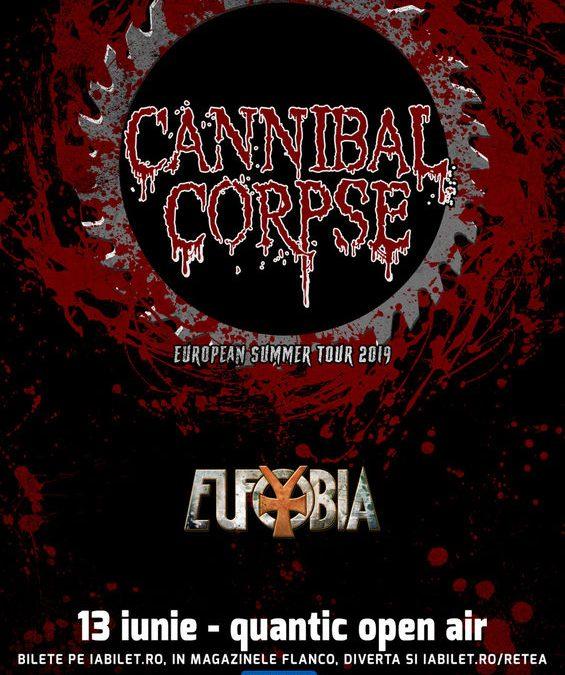 București: Cannibal Corpse la Quantic Open Air!