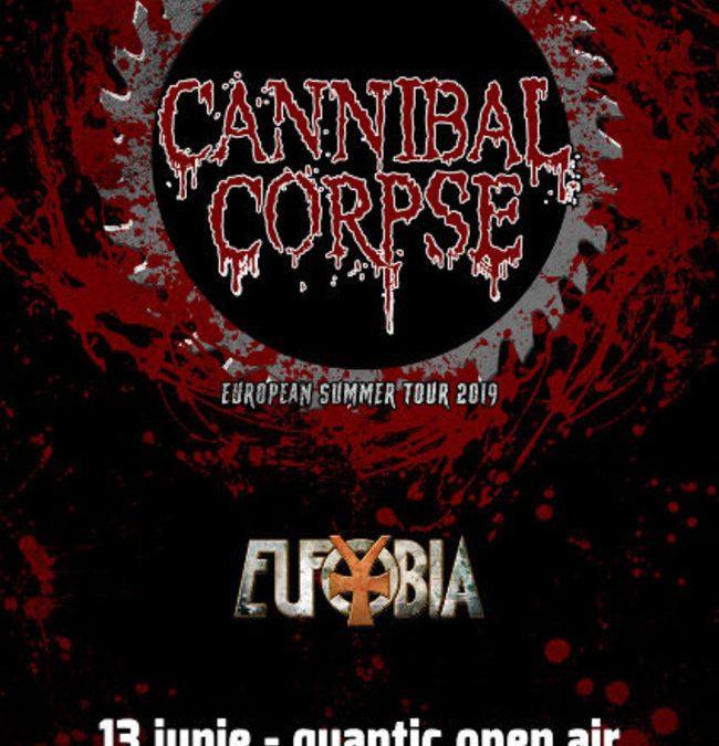 Concert Cannibal Corpse pe 13 iunie în Quantic din București