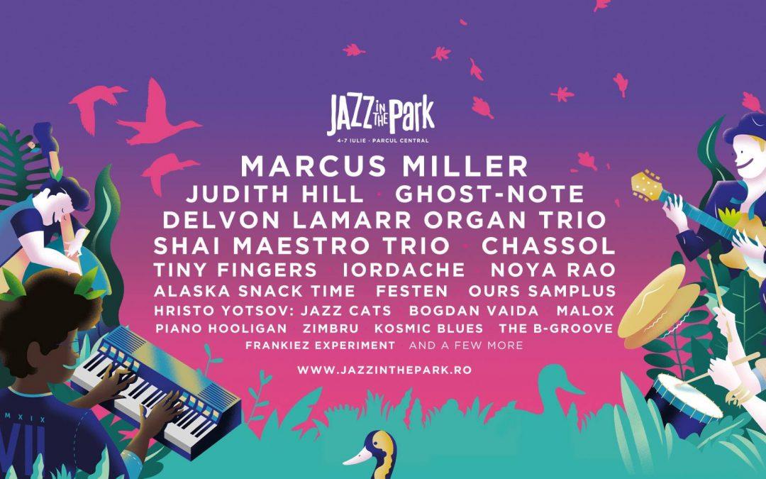 Jazz In The Park revine cu cea de-a 7-a ediţie în diferite locaţii din Cluj-Napoca