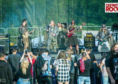 Killsorrow @ Festivalul Celtic Transilvania 2019 – foto Adrian Teglaș