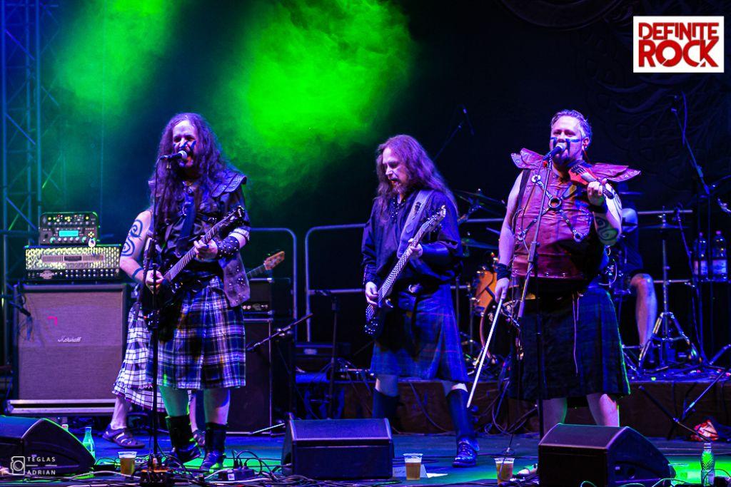Cruachan @ Festivalul Celtic Transilvania 2019 – foto Adrian Teglaș
