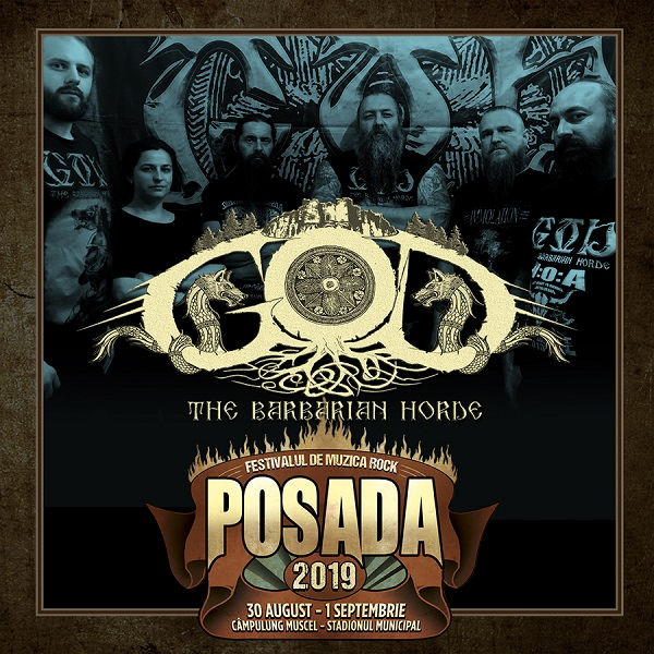 GOD – THE BARBARIAN HORDE și FOCURI la Posada Rock 2019!