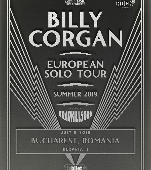 Showul Billy Corgan se mută la Beraria H