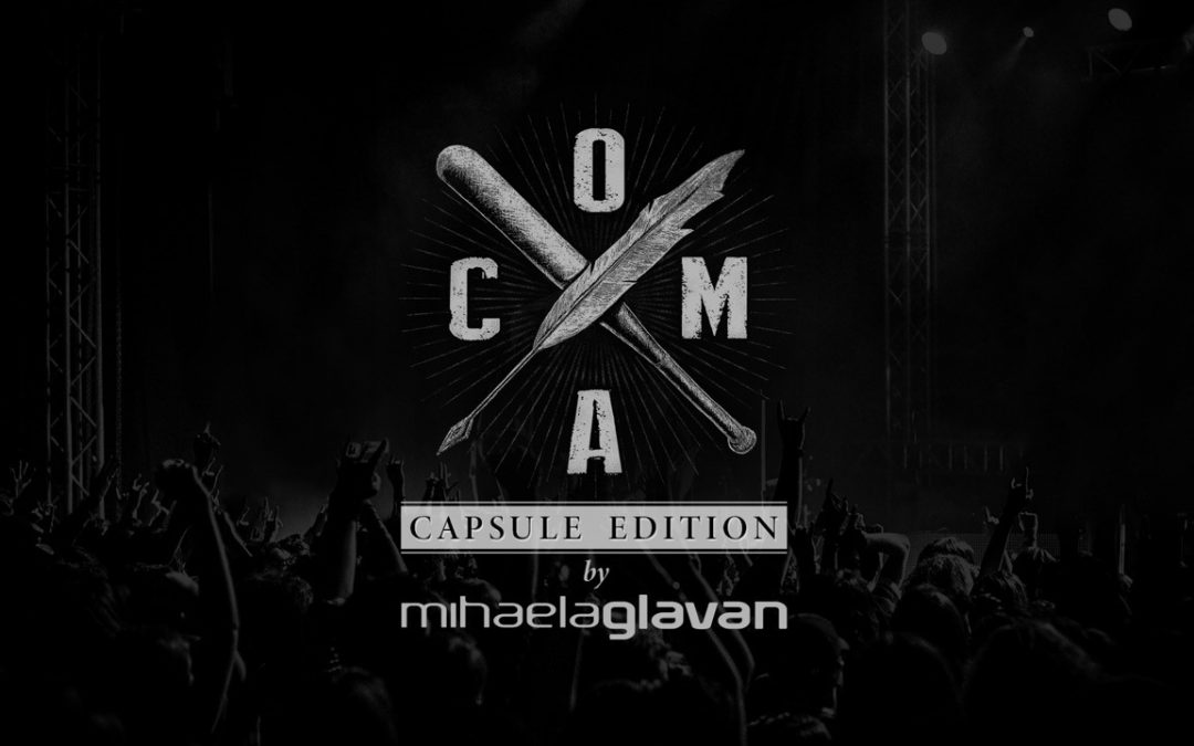 COMA X MIHAELA GLĂVAN: colecție capsulă cu influențe de rock alternativ
