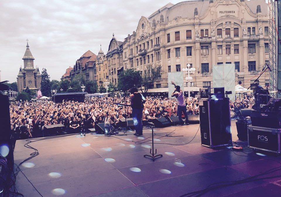 Concert aniversar Crazy Town LIVE în Timișoara