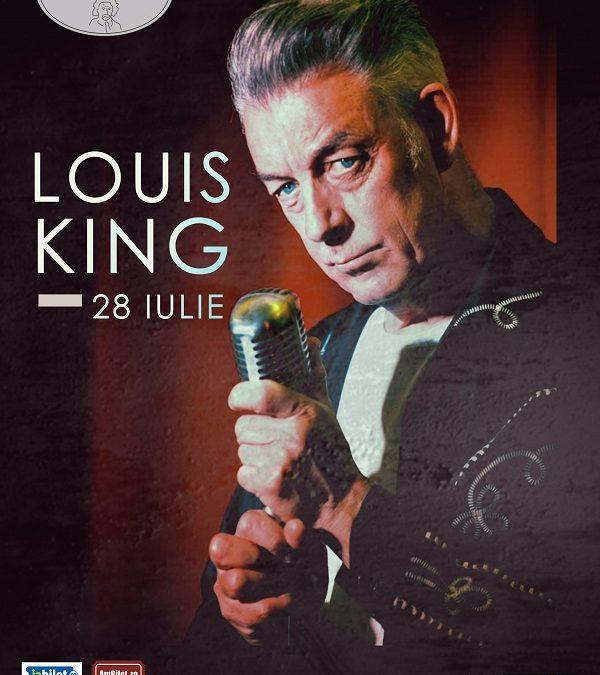 "Louis King ""The King of the Rockin' Blues"" vine în Quantic"