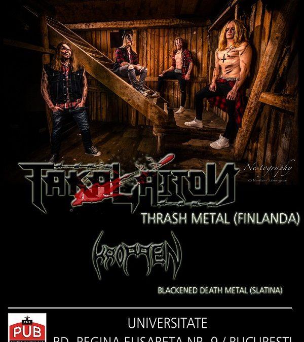 Takalaiton – concert thrash metal finlandez, duminică, la București