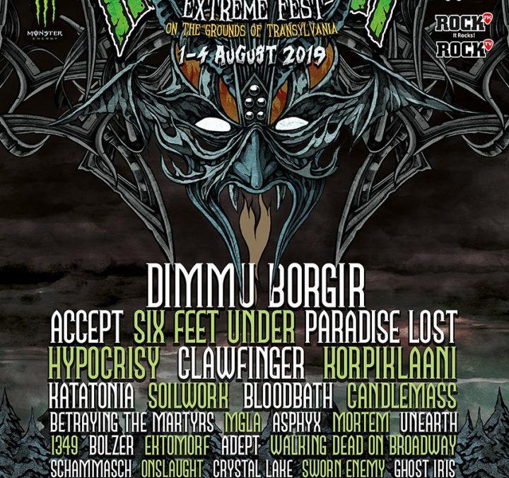 Cronica de festival: Rockstadt Extreme Fest, ediţia a VII-a, 1-4 August 2019