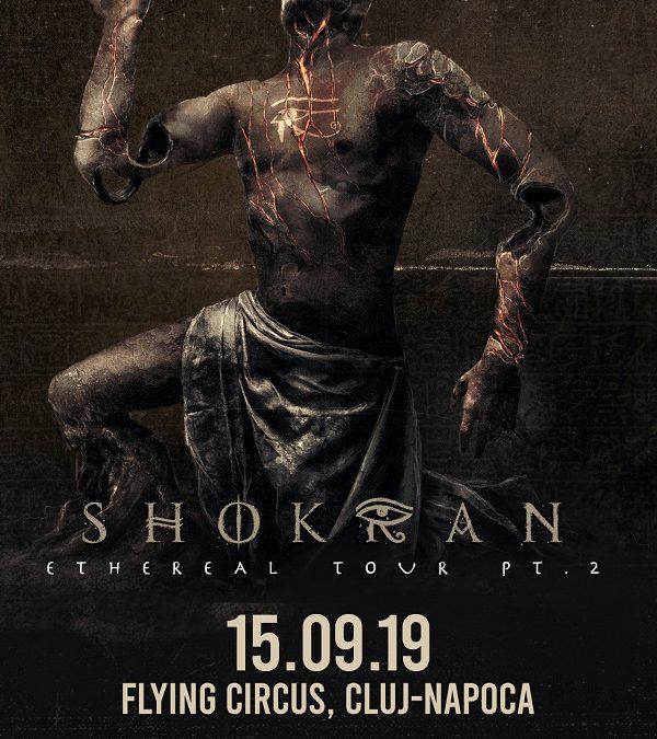 Concert Shokran (RU) în Flying Circus, Cluj-Napoca