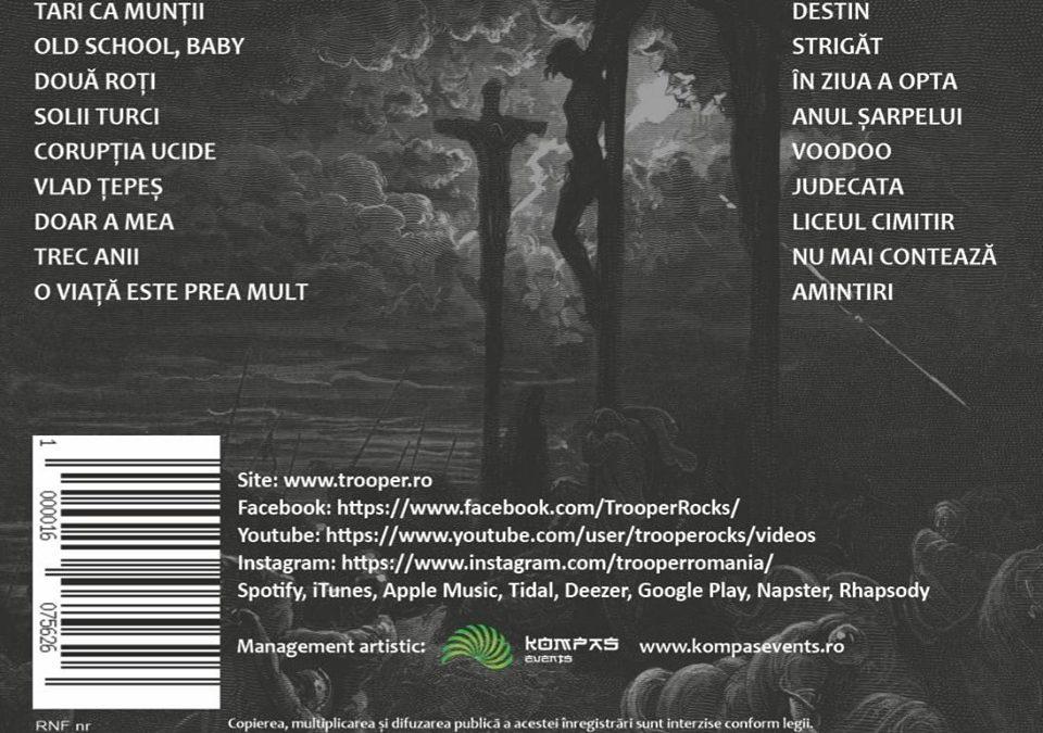 """Trooper lansează clipul piesei """"Strigăt"""" – varianta inclusă pe """"Strigăt: Best of 2002 – 2019"""""""