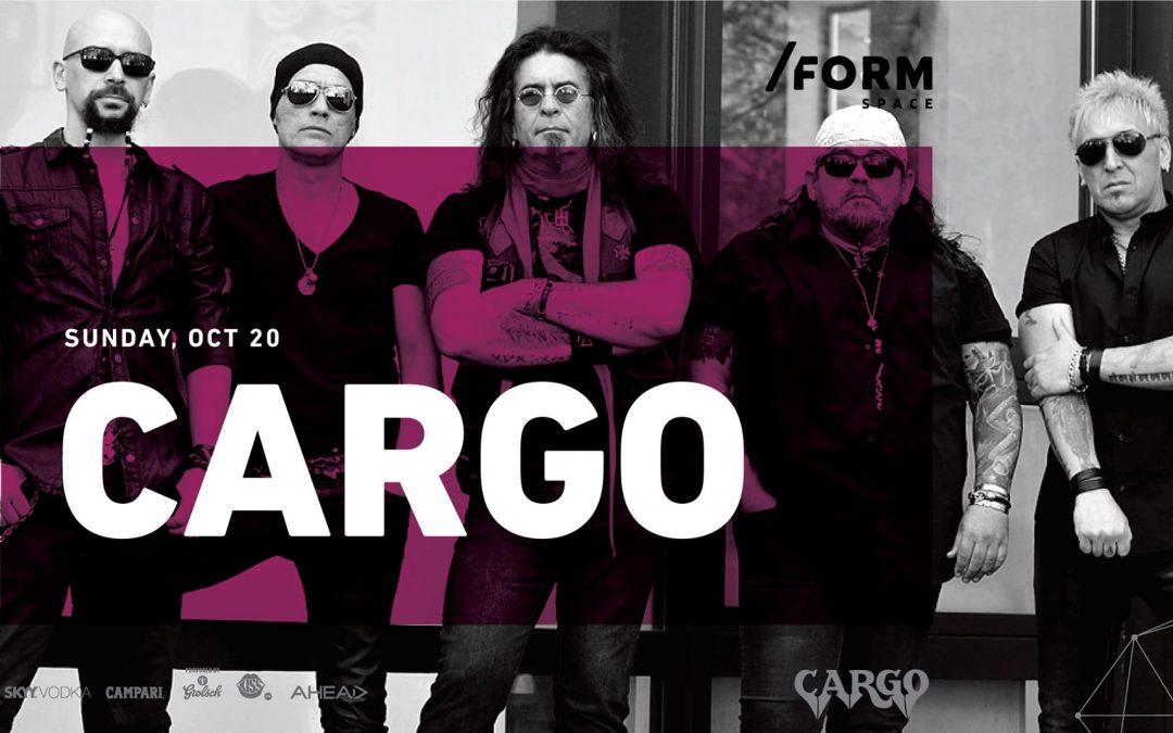 Cargo va concerta din nou în /Form Space Cluj-Napoca