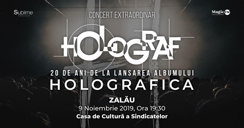 """Holograf aniversează 20 de ani de lansarea albumului """"Holografica"""" și pleacă în turneu"""