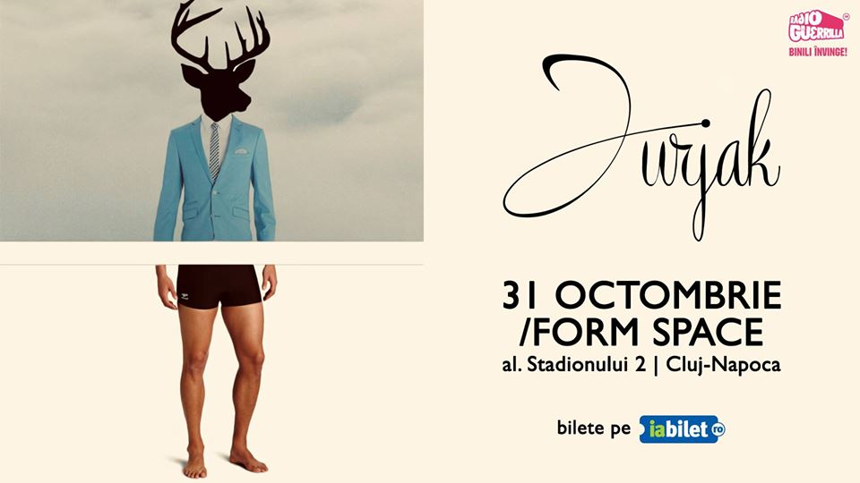 Jurjak concertează în /Form Space Cluj-Napoca