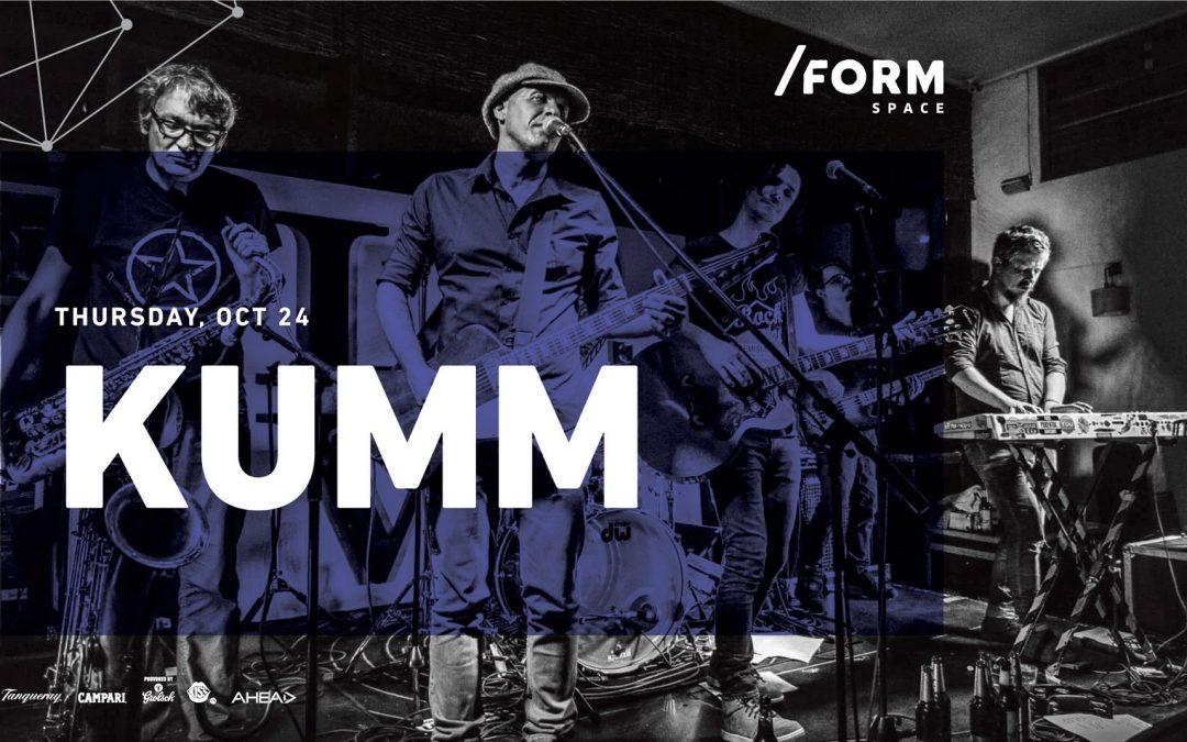 Concert KUMM în /Form Space Cluj-Napoca