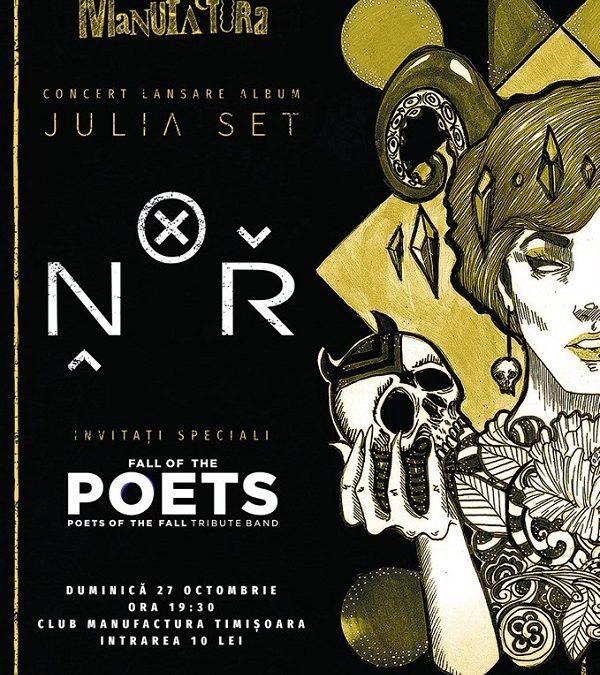 Trupa N.O.R. își lansează primul album full la Timișoara