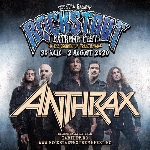 Anthrax la Rockstadt Extreme Fest 2020