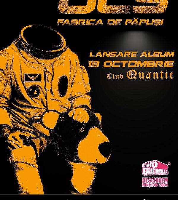 Omul Cu Șobolani lansează noul album în Quantic