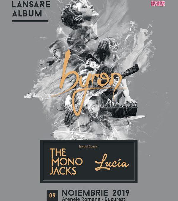 Trupa byron anunță turneul de lansare a noului album. The Mono Jacks – invitați speciali la concertul de la București