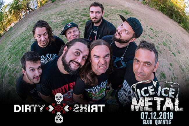 Ice, Ice Metal – 7 decembrie 2019 @ Quantic, București